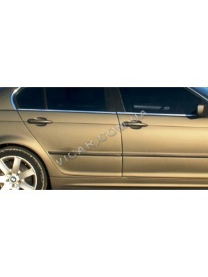 Нижние молдинги стекол BMW 3 серия E46