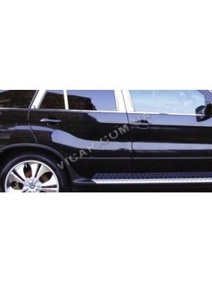 Нижние молдинги стекол BMW X5 (2000-06)