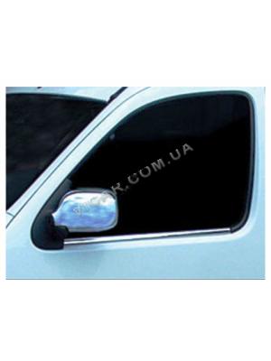 Накладки на зеркала Renault Kangoo (2003-08)