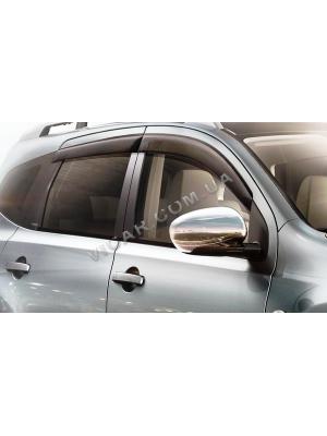 Накладки на зеркала Nissan Qashqai