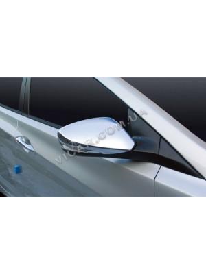 Накладки на зеркала Hyundai Accent (2010...)