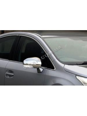 Накладки на зеркала Toyota Avensis (2009...)