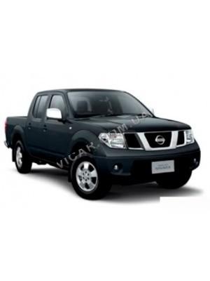 Накладки на зеркала Nissan Navara (2005...)