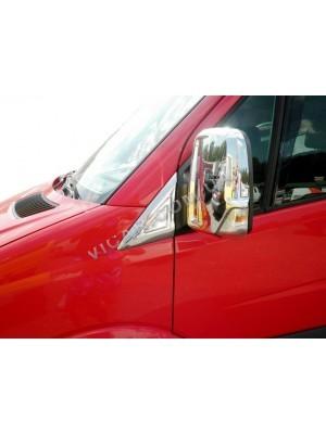 Накладки на зеркала Mercedes Sprinter (2006...)