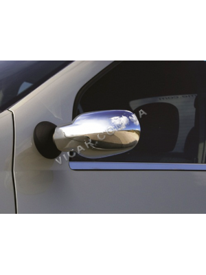 Накладки на зеркала Dacia Logan (2005...)