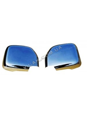 Накладки на зеркала Toyota Hiace (99-09)