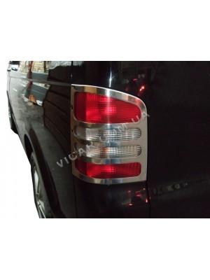 Окантовка задних фонарей Volkswagen Transporter T5 (2004...)