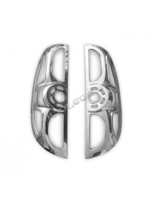 Окантовка задних фонарей Fiat Doblo (2010...)