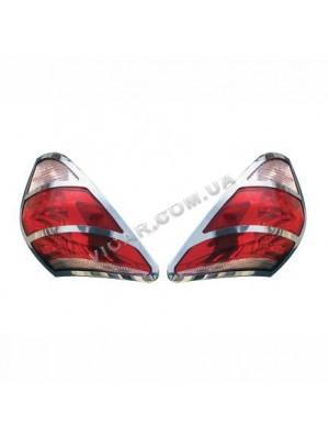 Окантовка задних фонарей Toyota RAV-4 (2006...)