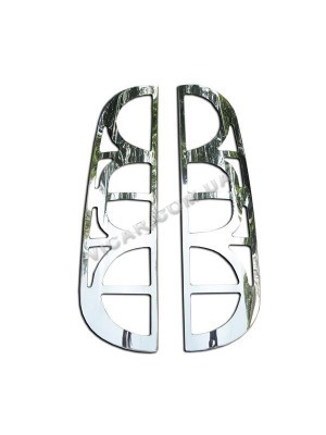 Окантовка задних фонарей Fiat Doblo (2001 - 05)