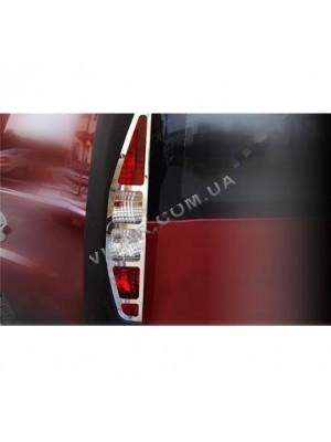 Окантовка задних фонарей Fiat Doblo (2006 - 09)