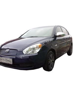 Накладки на зеркала Hyundai Accent (2006 - 10)