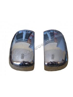 Накладки на зеркала для Fiat Doblo (2001 - 09)