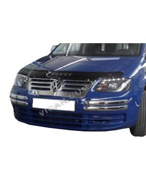 Накладки на углы переднего бампера Volkswagen Caddy (2004…)