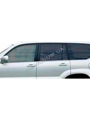 Нижние молдинги стекол Land Cruiser Prado 120