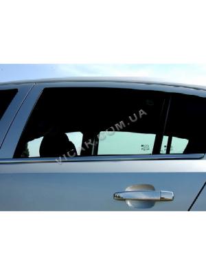 Нижние молдинги стекол Opel Astra G