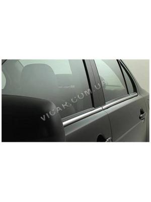 Нижние молдинги стекол Mitsubishi Lancer IX