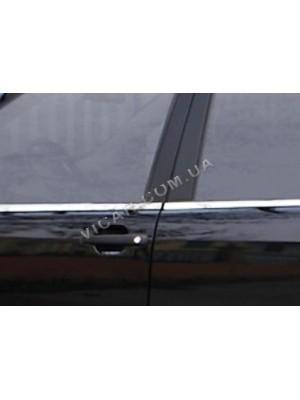 Нижние молдинги стекол Kia Cerato 2010+