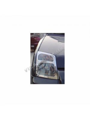 Накладки на передние фары Ford Transit (2000-06)
