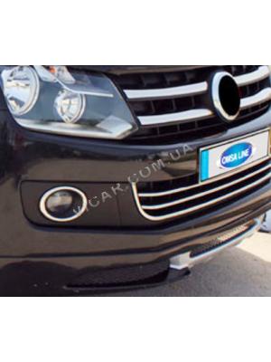 Окантовка на противотуманные фонари Volkswagen Amarok