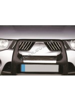Накладки на решетку радиатора Mitsubishi L200
