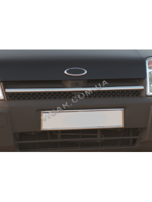 Накладка на решетку радиатора Ford Connect (02-06)