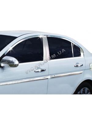 Накладки на ручки Hyundai Accent (2011...)