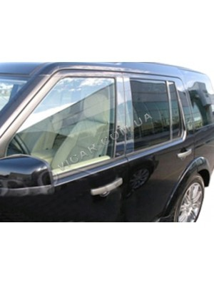 Накладки дверных стоек Land Rover Discovery III (04-09)