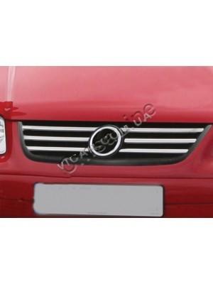 Накладка на решетку радиатора Volkswagen Caddy (2004...)