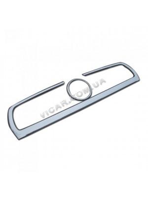 Накладка на решетку радиатора  Fiat Doblo (половинка)