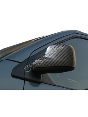 Накладки на зеркала (карбон) Volkswagen Transporter T5 (2004...)