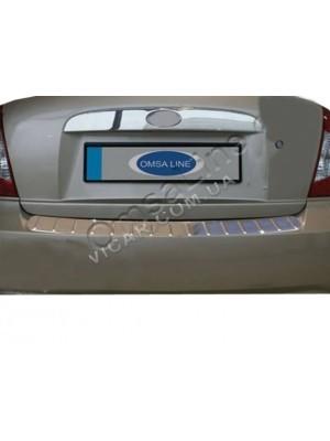 Планка над номером на крышку багажника Hyundai Accent (06+)