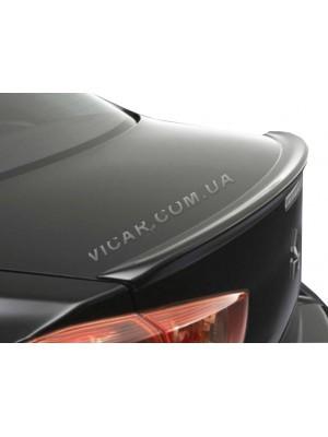 Сабля на край багажника Mitsubishi Lancer X (2007...)