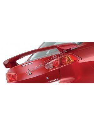 Спойлер на багажник Mitsubishi Lancer X (2007...)